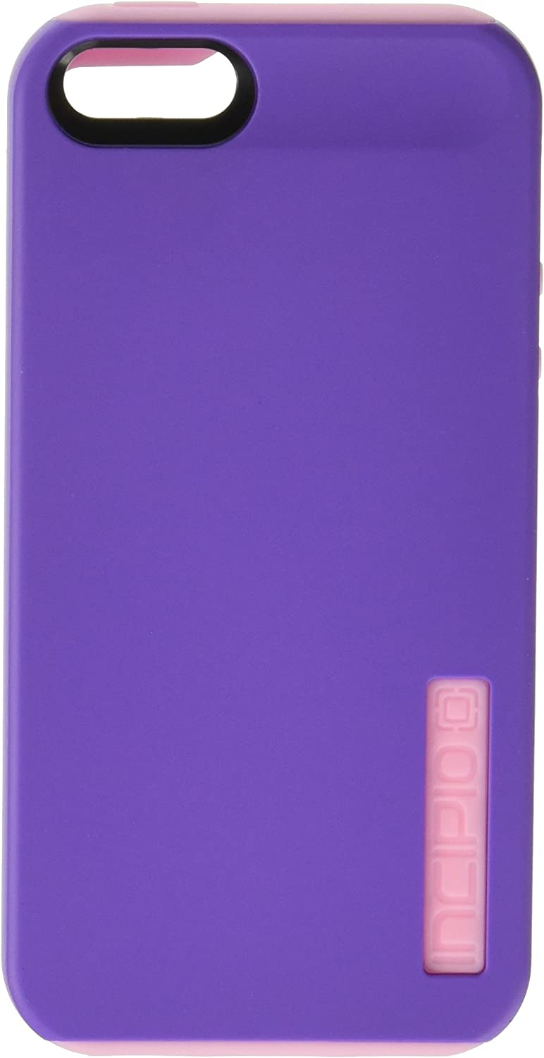 Incipio DualPro Case for iPhone 5S - Retail Packaging - Purple/Pink