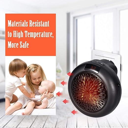 GESUNDHOME Electric Heater Mini Fan