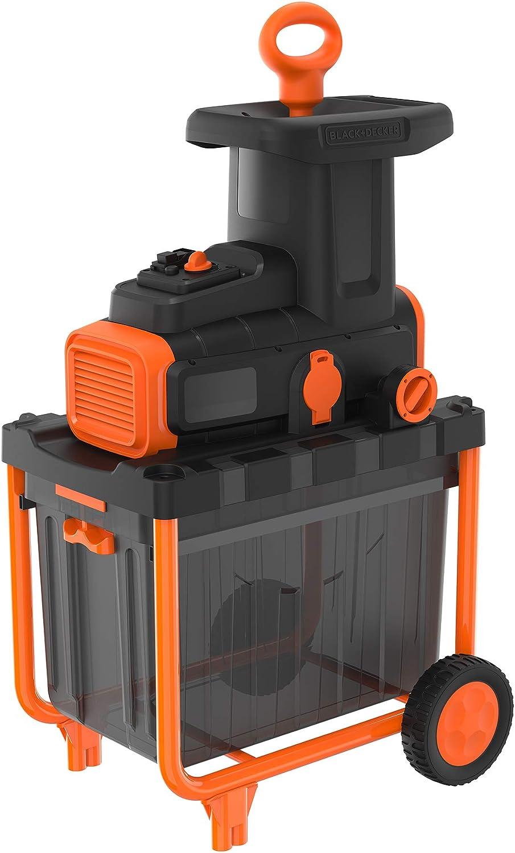 BLACK+DECKER BEGAS5800 - Biotrituradora eléctrica 2800W, 45 Litros