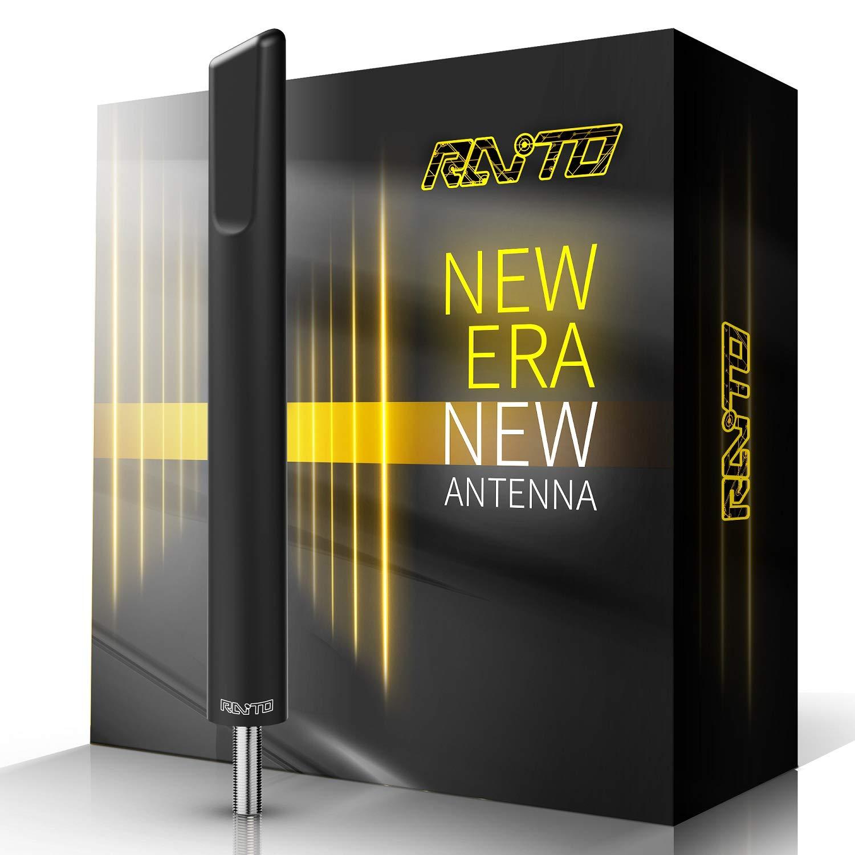 RAITO 4.8-Inch AM FM Radio Short Antenna Compatible with Jeep Wrangler JK JKU JL JLU 2007-2020 by RAITO