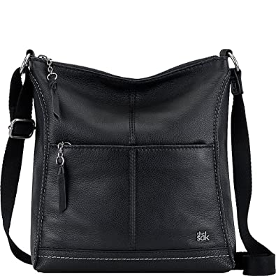 The Sak Lucia Crossbody (Black)  Handbags  Amazon.com