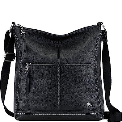 The Sak Lucia Crossbody (Black)  Handbags  Amazon.com 8d4afccb6ad55