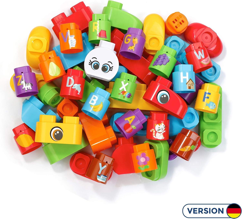 VTech Bla Bla Blocks 80-608704 juego educativo - Juegos educativos (Multicolor, Niño, Niño/niña, 1,5 año(s), 4 año(s), 50 pieza(s)) , color/modelo surtido: Amazon.es: Juguetes y juegos