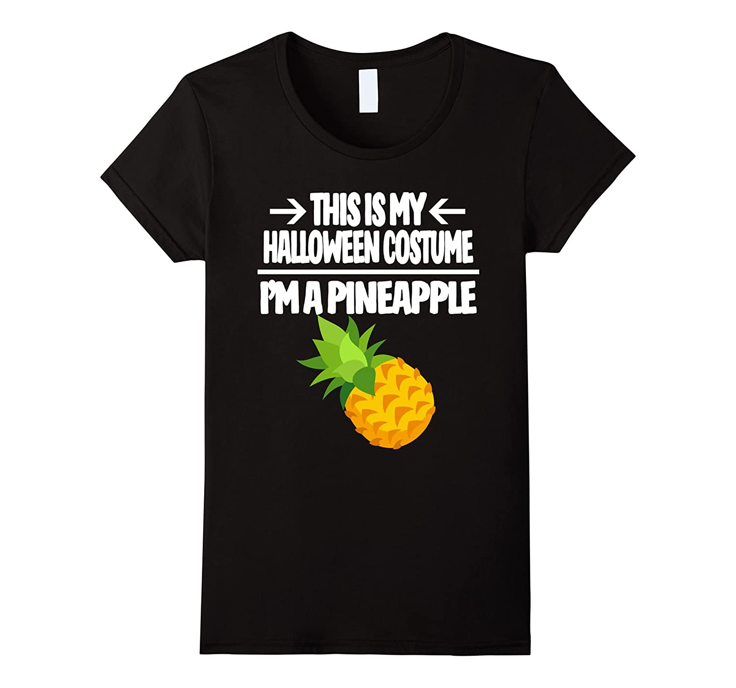 Pineapple Halloween Costume Shirt - Men Women Youth Sizes