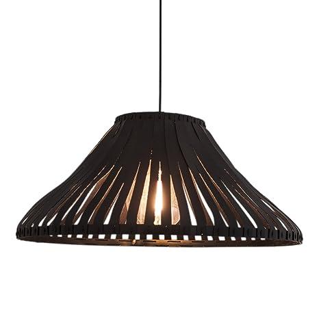 by rydens 4200550 - 4000 lámpara de techo latón/Leatherette ...
