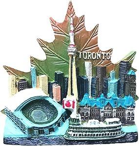 3D Toronto Canada Famous Souvernir fridge magnet,home and kitchen decoration Refrigerator Magnet
