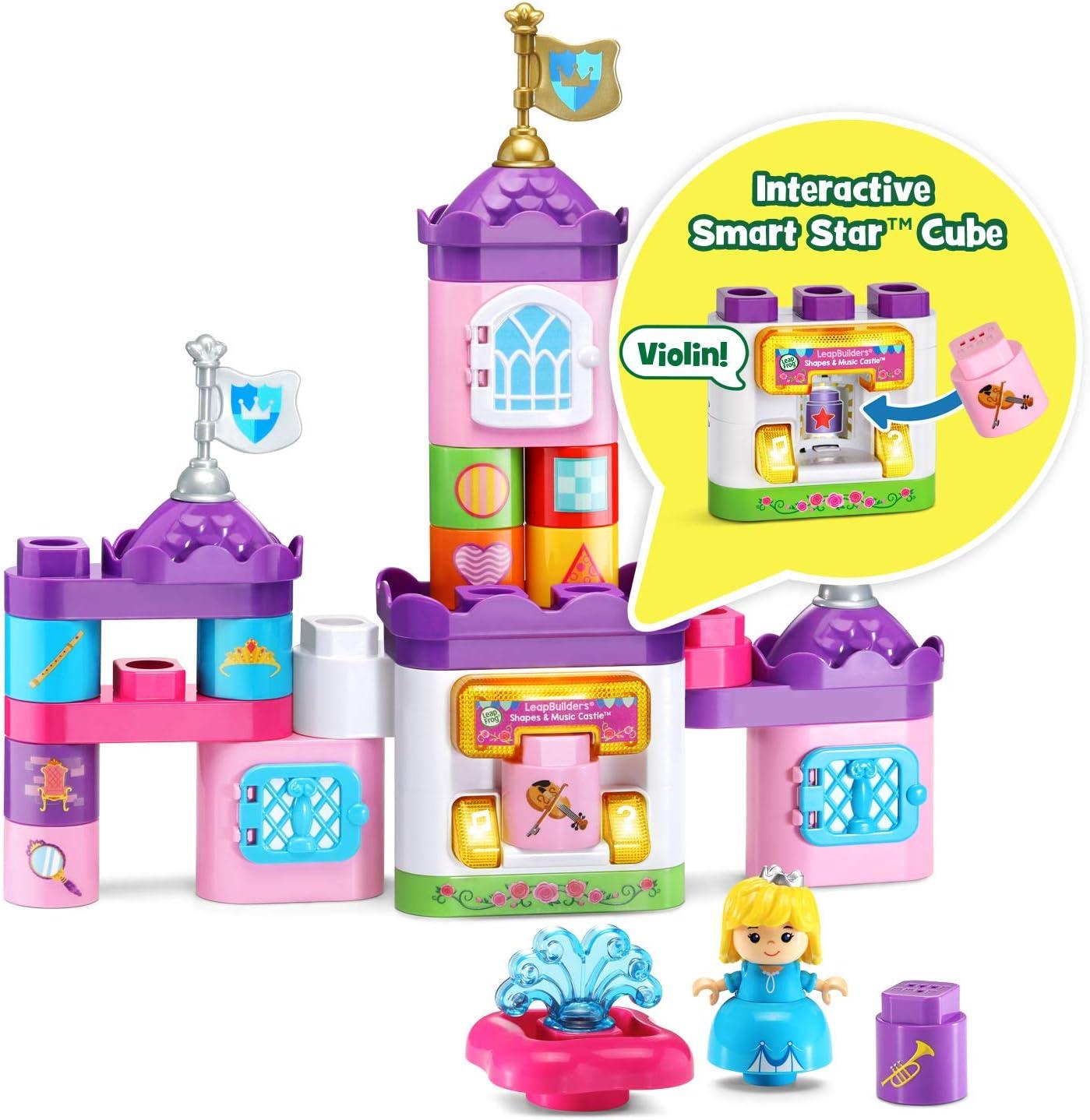 LeapFrog LeapBuilders Shapes and Music Castle, Multicolor