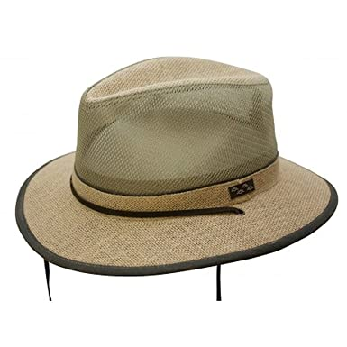 eda2a04c Conner Hats Men's Nathan Hemp Mesh Hiker Hat at Amazon Men's Clothing store: