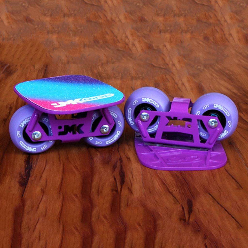 【WEB限定】 ドリフトフリーラインスケートDIYアダルト子供4輪スケートボードスクーターロードスクラブ Purple B07FLX5VCG B07FLX5VCG Purple Purple, サワラク:858910cf --- a0267596.xsph.ru