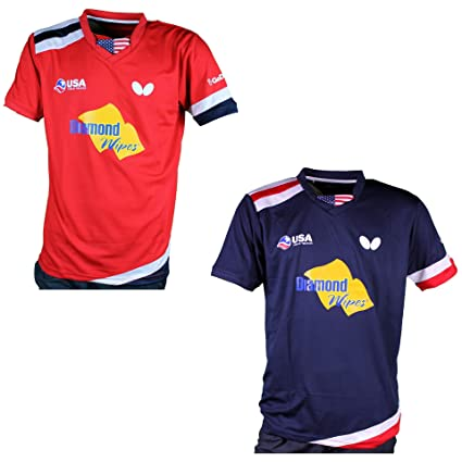 : Butterfly Table Tennis Shirt Team USA 2019