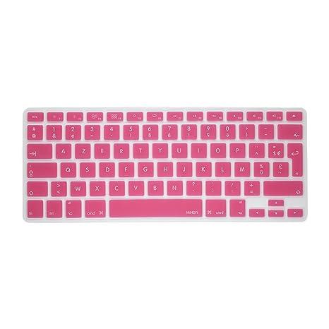"MiNGFi francés Cubierta del teclado / Keyboard Cover AZERTY para MacBook Pro 13"" 15"""