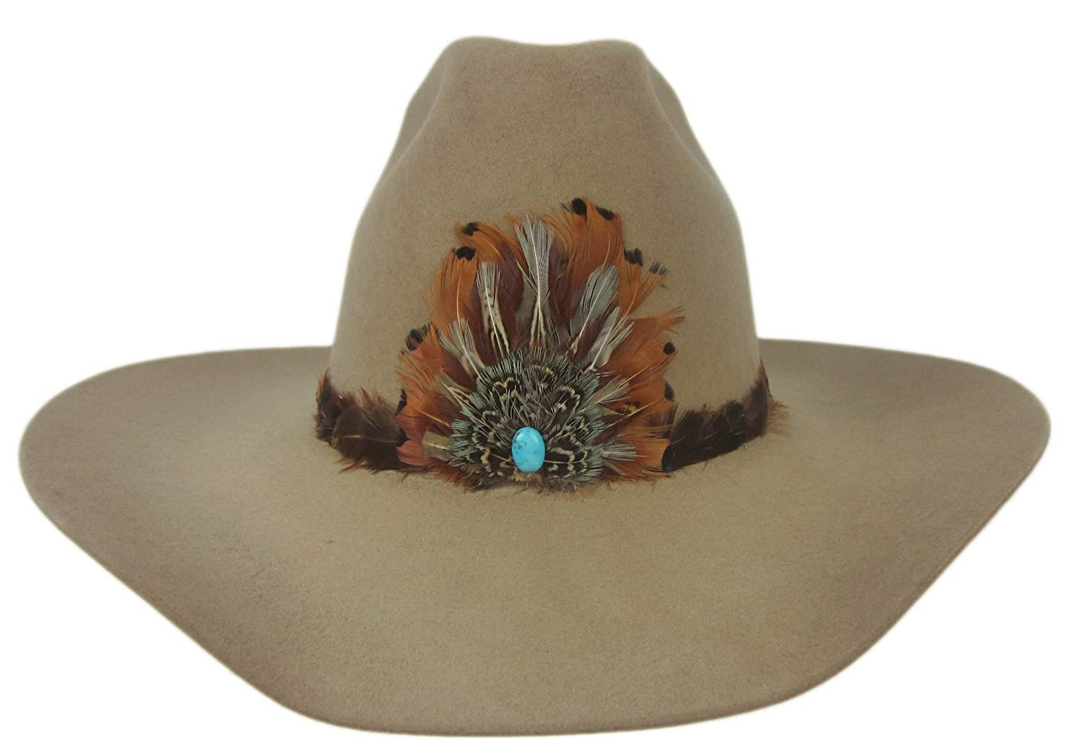 8754fa5304b40 Stetson 6X Show and Tell Cowboy Hat Fawn 7 Oval 4