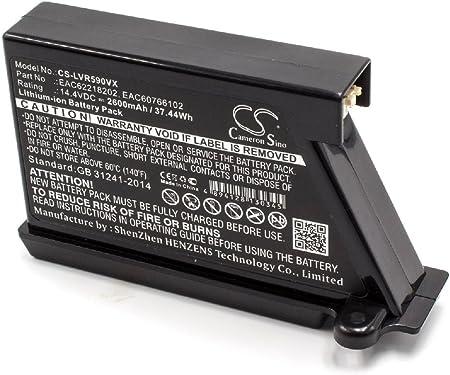 vhbw Batería Li-Ion 2600mAh (14.4V) para robot limpiasuelos robot ...