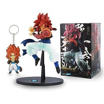 Amazon.com: Geek Gear Dragon Ball Z Anime PVC Super Saiyan 4 ...