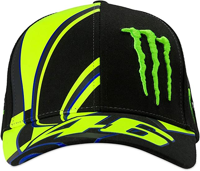 Gorra réplica Monster 46: Amazon.es: Coche y moto