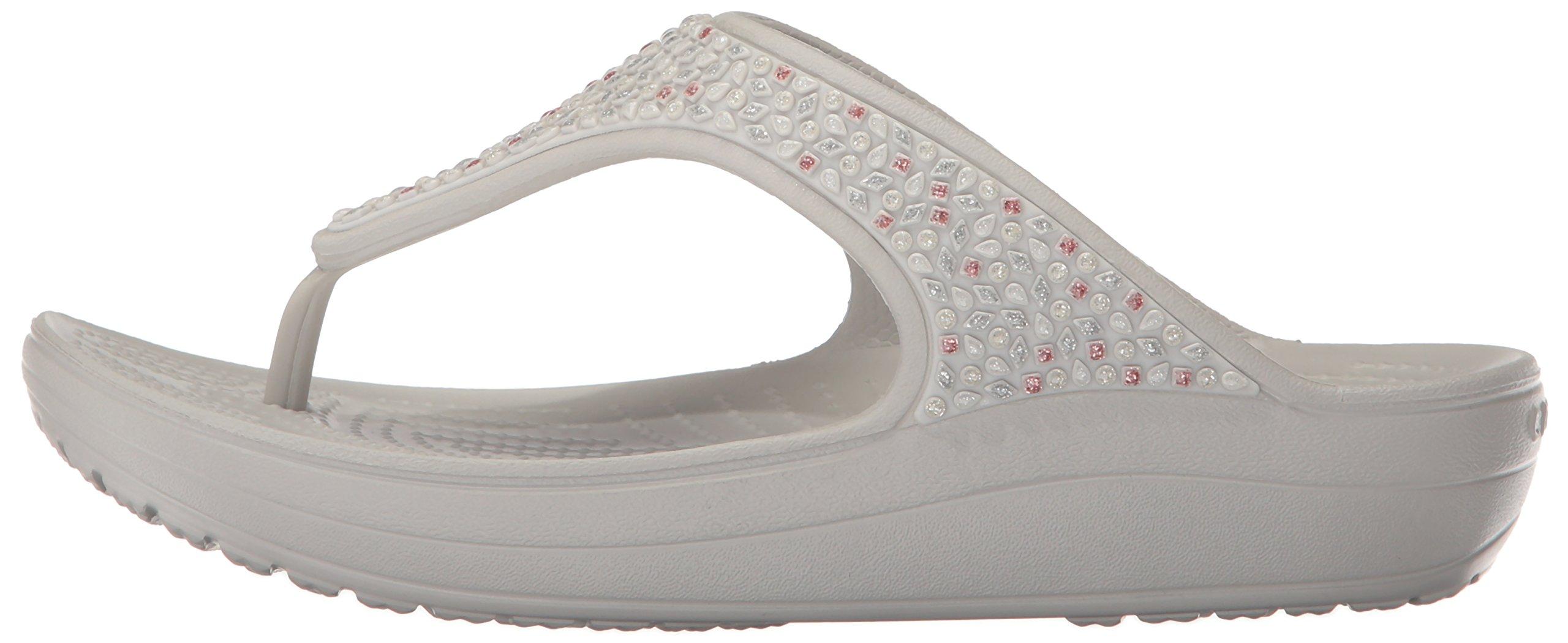 5dc031a21c33 Crocs Women s Sloane Embellished Platform Flip - CSEW9291703   Flip-Flops    Clothing
