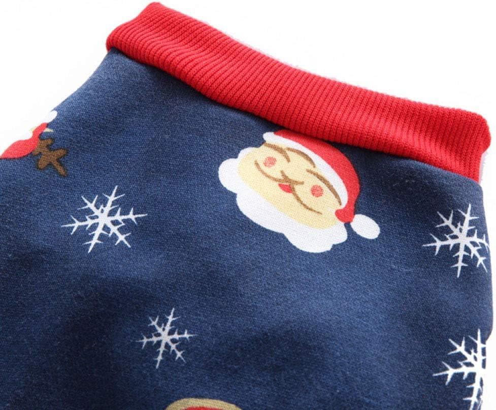 Jinanminsenshangmao Disfraz de Navidad de Halloween para Mascotas ...