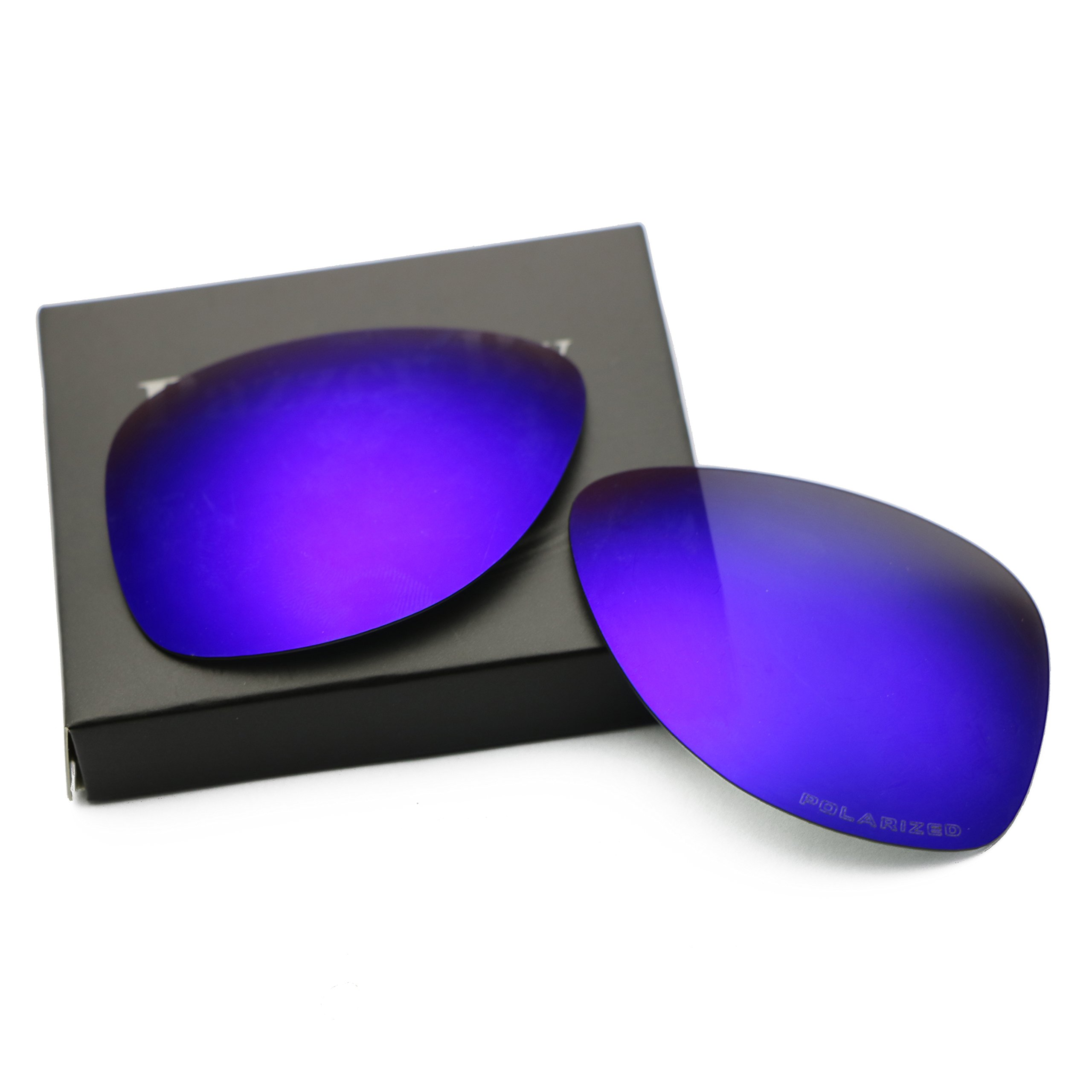 Polarized Replacement Lenses for Oakley Dispatch 2 - Purple Violet Mirrored Coating