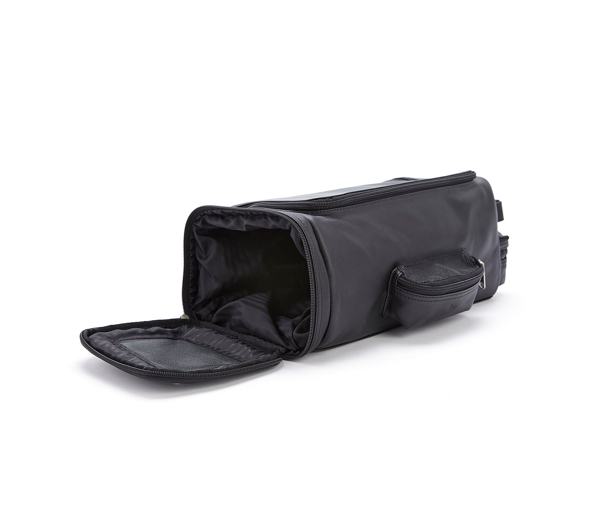 Royce Leather Luxury Travel Golf Shoe Bag Black by Royce Leather