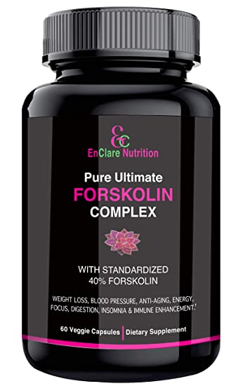 Amazon Com 100 Pure Forskolin Extract For Weight Loss Belly