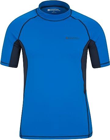 91aad02748 Mountain Warehouse Camiseta térmica con protección Solar UV para Hombre -  Camiseta térmica con protección Solar