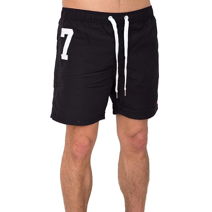 Superdry Premium Waterpolo Short Costume da Bagno Uomo