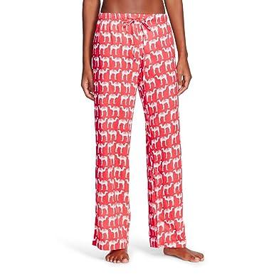 Flora By Rockflowerpaper Women S Woven Sleep Pj Pant Camel Coral