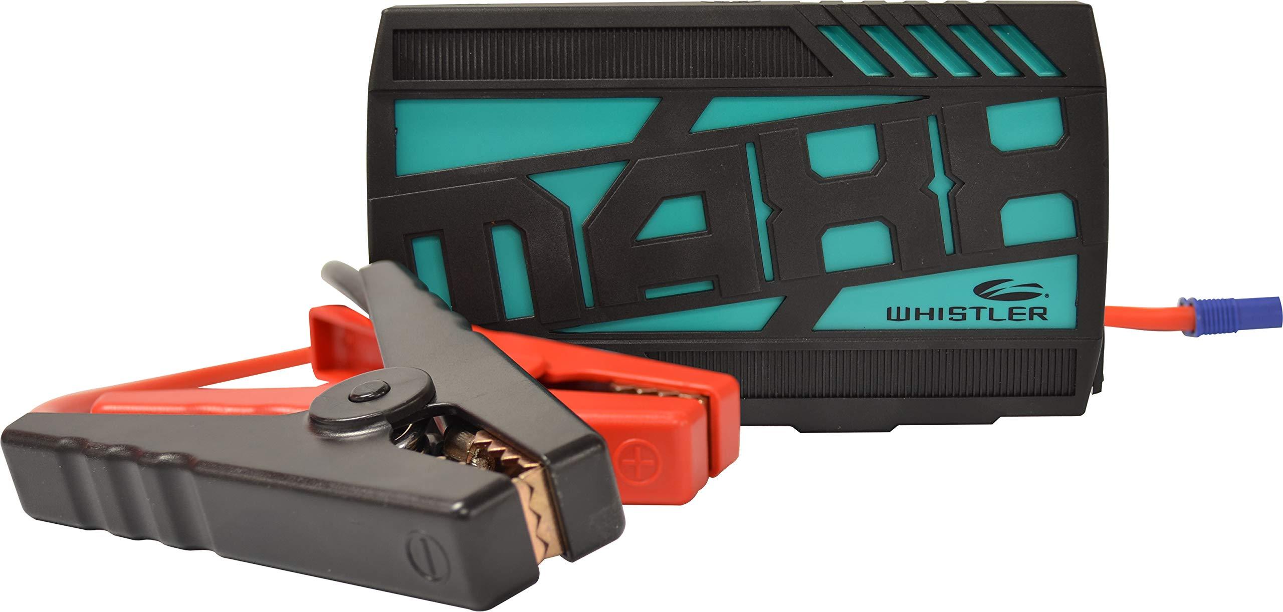 Whistler WJS-6000 MAXX Portable Lithium Jump Starter: 400 Starting 800 Peak Amps