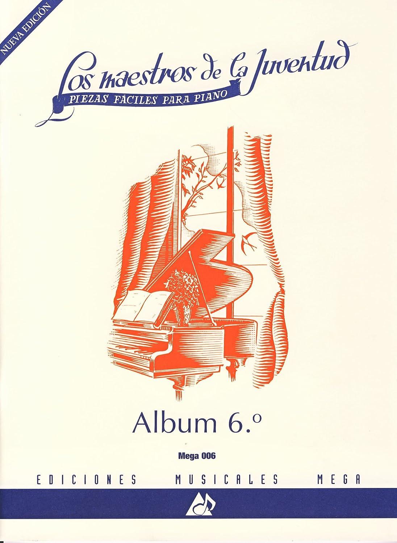Mega music Album para piano Volumen 6 Maestros de la juventud ...