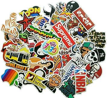 MiniMochi Pegatinas Coche, Graffiti Stickers Bomb, Calcomanías ...