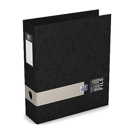 Oxford – Juego de 5 archivadores de palanca Big File Etudiant A4 lomo 80 mm colores