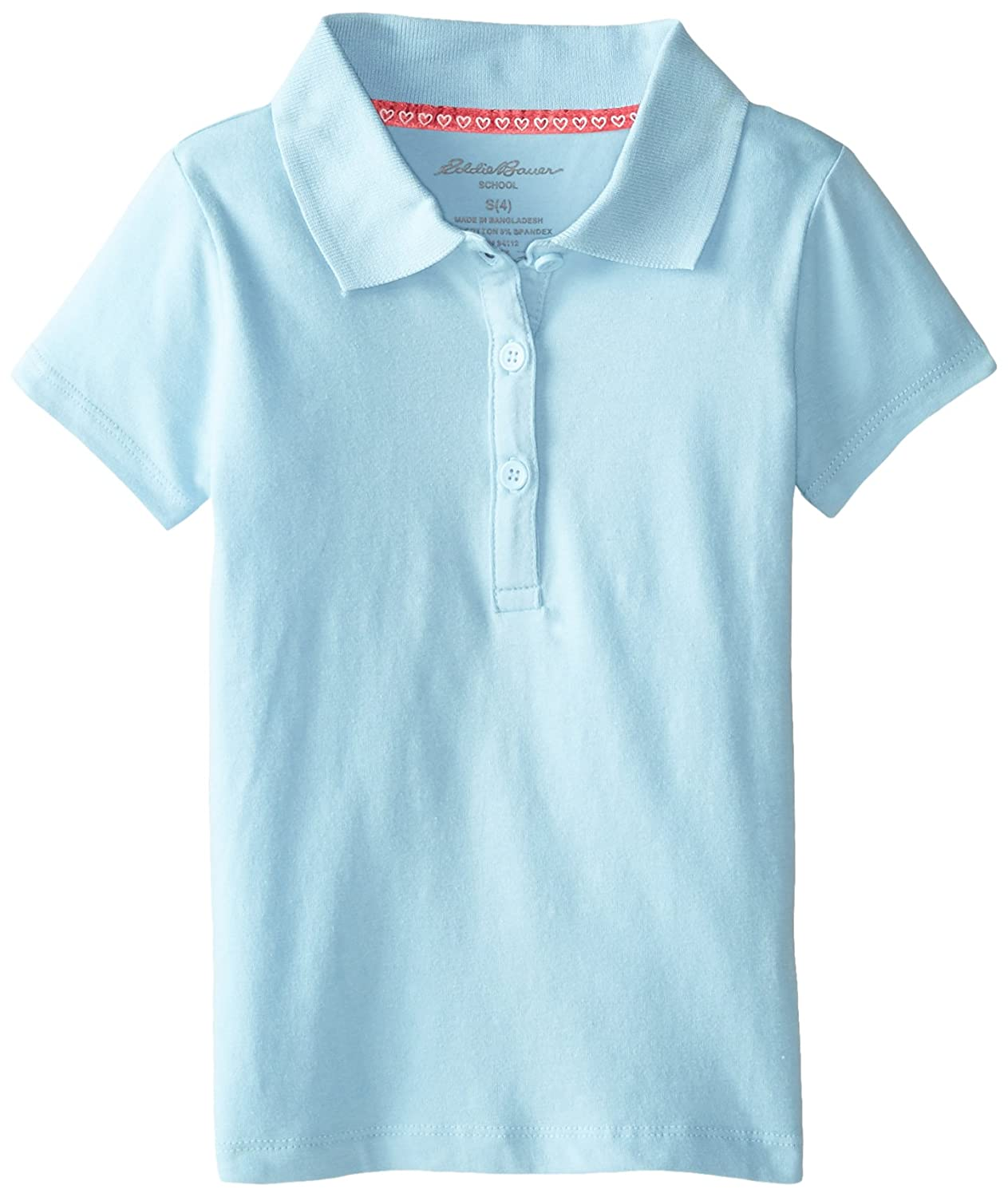 Eddie Bauer Girls' Polo Shirt (More Styles Available) IB95