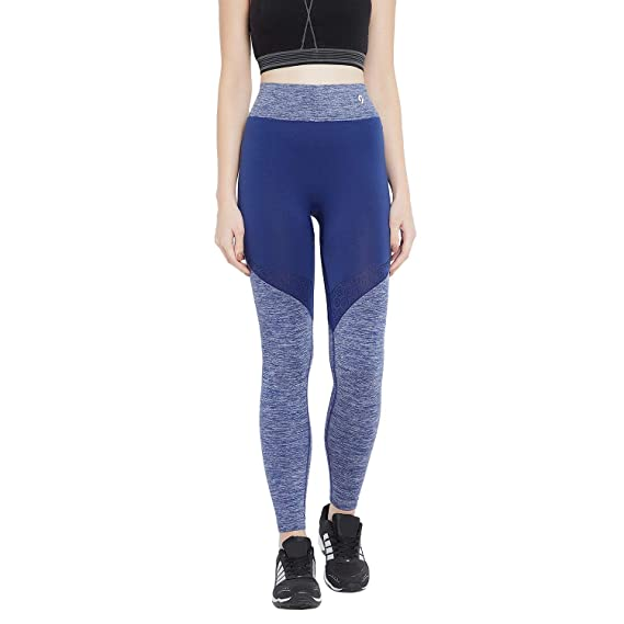 0ff52ff3f0af6 C9 Women Solid Blue Ankle Length Legging: Amazon.in: Clothing & Accessories