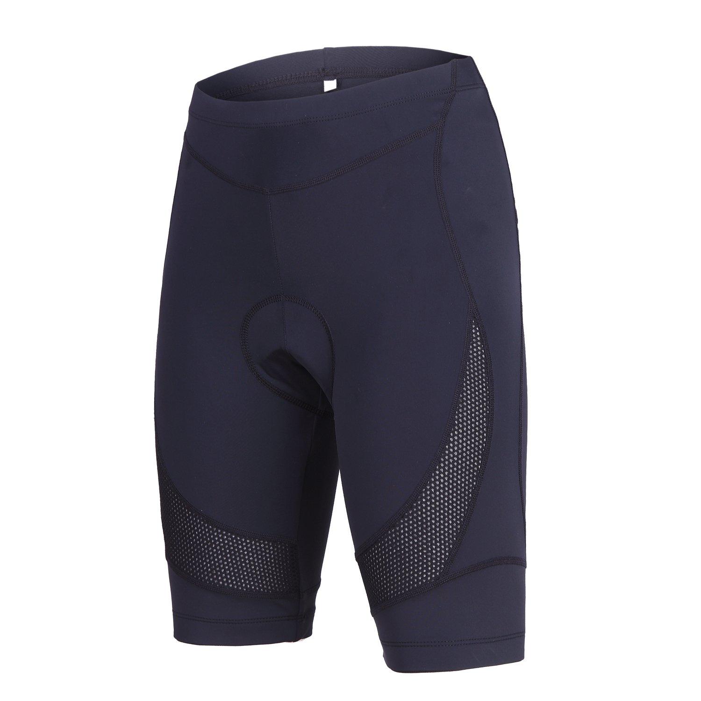 beroy Womens Bike Shorts with 3D Gel Padded,Cycling Women's Shorts (M, Black) by beroy