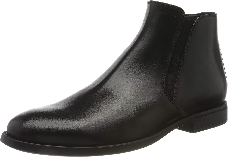 Geox U Domenico C, Chelsea Boot Hombre