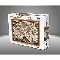 Ks Games- 17Th Centruy World Map 2000 Parça Puzzle