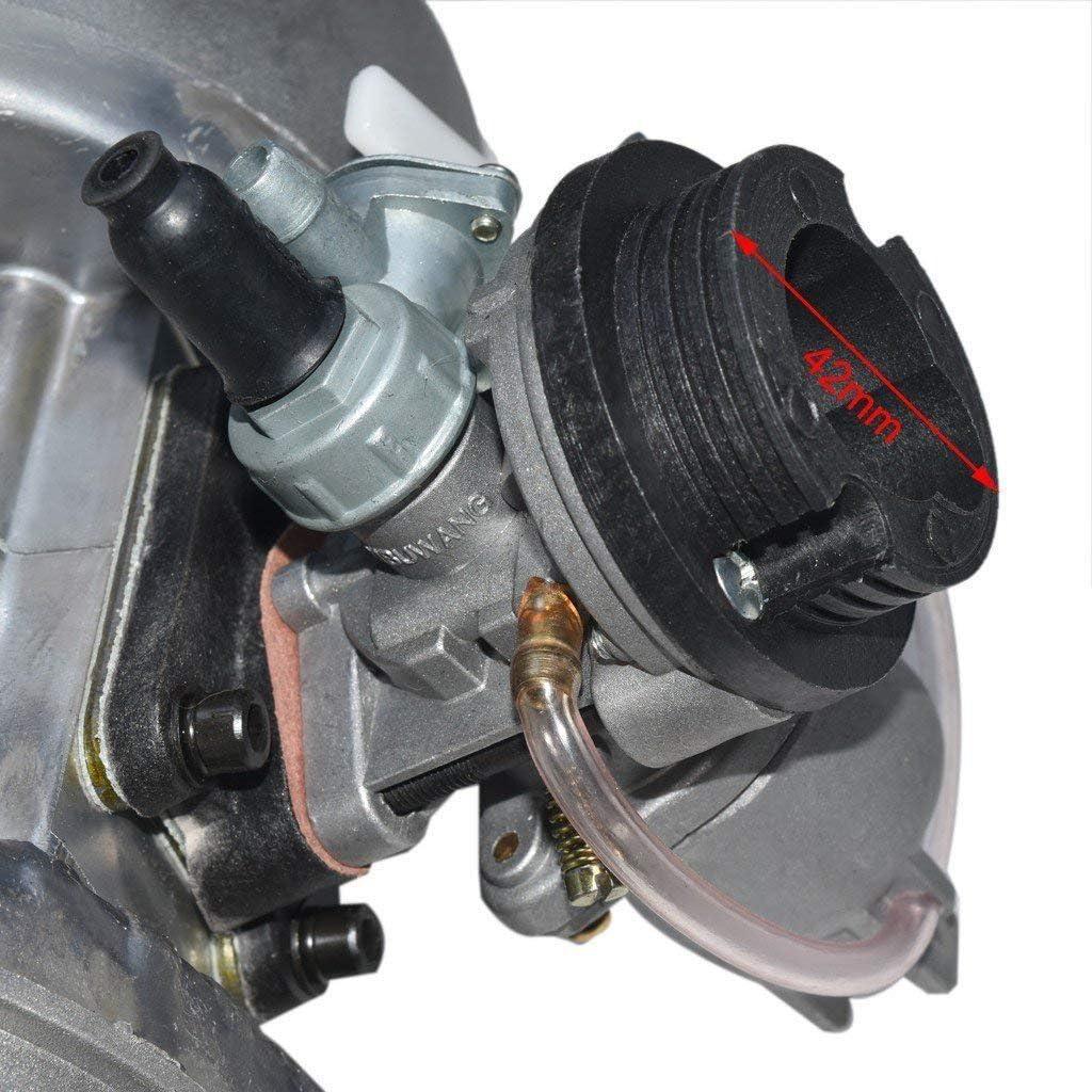 FidgetFidget 49cc 2 Hub Pull Start Motor f/ür Pocket Bike Mini Dirt Bike ATV Roller