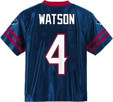 Deshaun Watson Houston Texans #4 Youth Player Name /& Number Jersey Red
