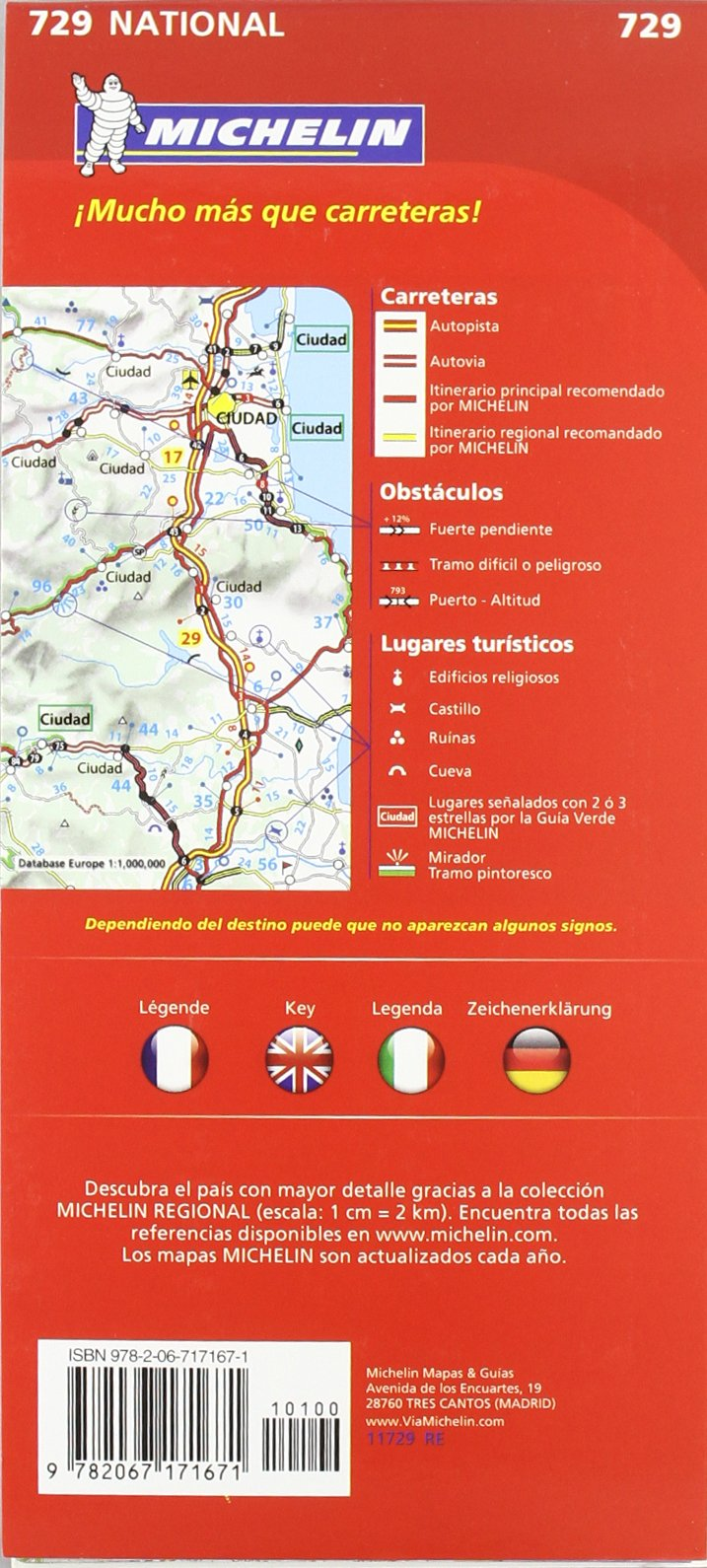 Mapa National Suiza (Mapas National Michelin): Amazon.es: Vv.Aa, Vv.Aa: Libros