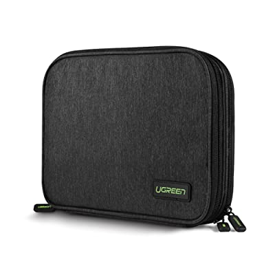 c567af4c747c UGREEN Organizador Accesorios Electrónicos con Compartimentos Bolsa  Portable para GuardarDisco Duro, USB Cables, Batería Externa, Cargadores, Tarjetas  de ...