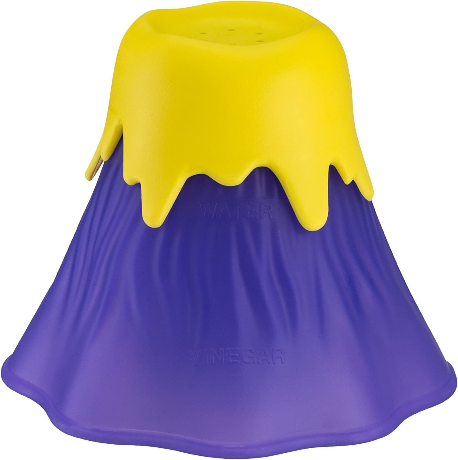 Erupting Volcano Microwave Cleaner, Kitchen Dirt Cleaner, Fun, Safe And Easy To Use (Purple)