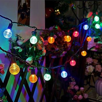 Image Unavailable - Amazon.com : UZEXON G30 Outdoor Globe Led String Lights Christmas