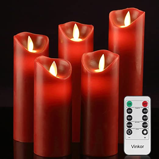 battery operated candles walmart