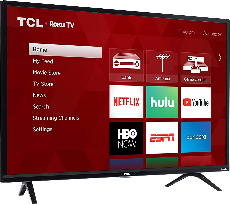 "TCL 40/"" 1080p HD LED 3-Series Dual-Band Wi-Fi Roku Smart TV w// 60Hz Refresh Rate"