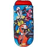 Ready Bed 406PWR Power Rangers Letto Gonfiabile e Sacco a Pelo per Bambini 2 in 1, Poliestere-Cotone, Multicolore, 150 x 62 x 20 cm