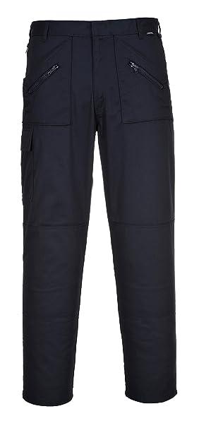TALLA 33. Portwest S887 - Pantalones de acción, color Marina de guerra, talla 33