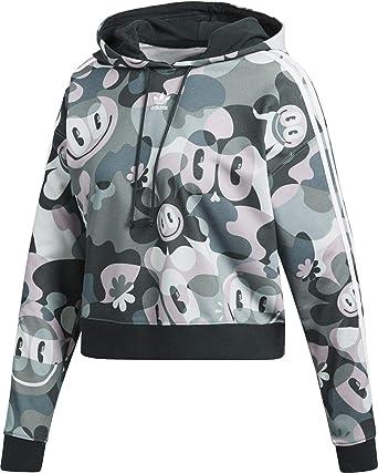 adidas W Hoodie multicolor: : Bekleidung