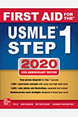 First Aid for the USMLE Step 1 2020, Thirtieth edition Paperback