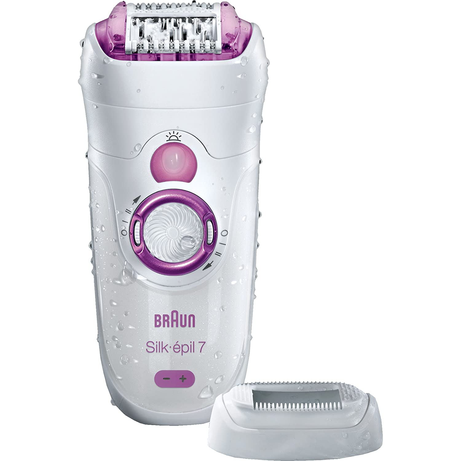 Braun Silk-Epil 7521 Wet and Dry Epilator (Pink) SE7521