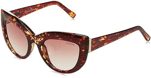 Guess GF6037, Gafas de Sol para Mujer, Marrón (Marrone), 52